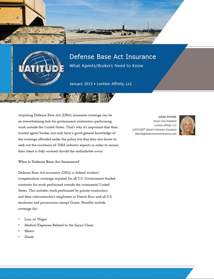 White Paper from Amerisure - Identifying Cold Stress Injuries