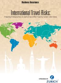 Travel Risks Data Poster